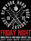 Rock-and-roll d'annata del rock star tipografico per la maglietta; DES del T illustrazione di stock
