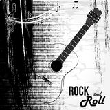 Rock and roll design Stock Image