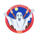 Rock And Roll Ghost Stock Images