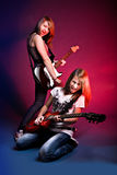 Rock and Roll girls Royalty Free Stock Photo