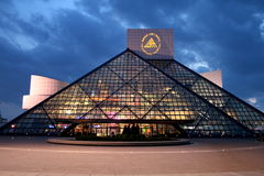 Rock And Roll Hall Of Fame stock images