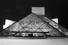 Rock And Roll Hall Of Fame Royalty Free Stock Image