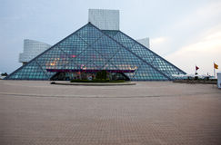 Rock & Roll Hall of Fame Royalty Free Stock Photo