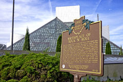 Rock and Roll Hall of Fame Stock Photography