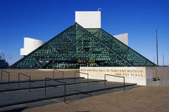 Rock & Roll Hall of Fame Stock Photo