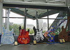 Rock and Roll Hall of Fame. The Rock and Roll Hall of Fame in Cleveland, Ohio, USA Royalty Free Stock Images