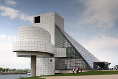 The Rock and Roll Hall of Fame and Museum Royalty Free Stock Images
