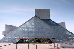 The Rock and Roll Hall of Fame and Museum Stock Photo