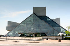 The Rock and Roll Hall of Fame and Museum Royalty Free Stock Photography