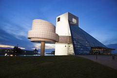 The Rock and Roll Hall of Fame and Museum Stock Image