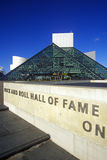 Rock and Roll Hall of Fame Museum, Cleveland, OH Royalty Free Stock Image