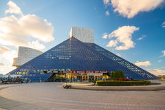 The Rock and Roll Hall of Fame and Museum Royalty Free Stock Photos