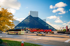 The Rock and Roll Hall of Fame and Museum Royalty Free Stock Image