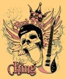 Rock and roll królewiątko Zdjęcia Royalty Free