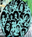 Rock And Roll malowidło ścienne Fotografia Royalty Free