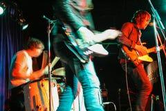 Rock and roll przedstawienie Zdjęcia Stock