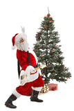 Rock and Roll Santa Claus Royalty Free Stock Photography