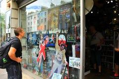 Rock And Roll sklep Londyn Anglia Zdjęcia Royalty Free