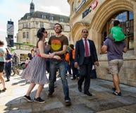 rock&Roll w Oxford Zdjęcia Royalty Free