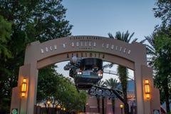 Rock and Roller Coaster Aerosmith main entrance at Hollywood Studios. Orlando, Florida. June 06, 2019. Rock and Roller Coaster Aerosmith main entrance at royalty free stock photo