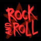 Rock-and-Rollhintergrunddesign Auch im corel abgehobenen Betrag Lizenzfreie Stockbilder