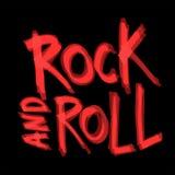 Rock-and-Rollhintergrunddesign Auch im corel abgehobenen Betrag Stockfotos