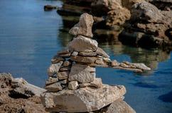 Rock's sculptures Stock Photos