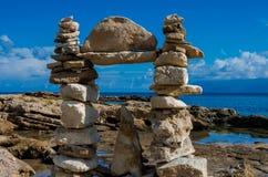 Rock's sculptures Stock Photo