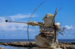 Rock's sculptures Royalty Free Stock Photos