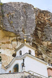 Rock and Saint Uspensky Cave Monastery, Crimea Royalty Free Stock Image