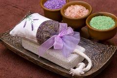 Rock salt spa Royalty Free Stock Image