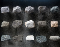 Rock sample Stock Images