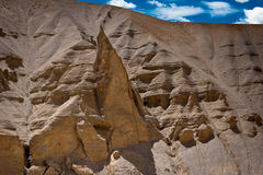 Rock and Sand formation at Himalaya mountains Stock Photography