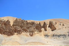 Rock and Sand formation(Ladakh). Stock Photos