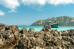 rock sceny morze spokojne zdjęcia stock