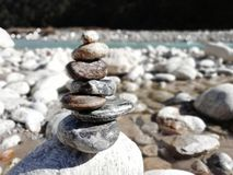 Rock Sculpture royalty free stock photography