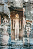 Rock sculptures near Gwalior Gate, Gwalior,  India Royalty Free Stock Image