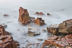Rock and sea Royalty Free Stock Photo
