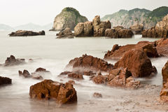Rock and sea Royalty Free Stock Images