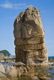 Rock in sea 3 Stock Photo