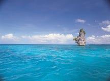 Rock on Sea stock image