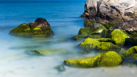 Rock at the sea Royalty Free Stock Images