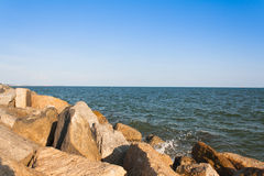 Rock and sea Royalty Free Stock Photos