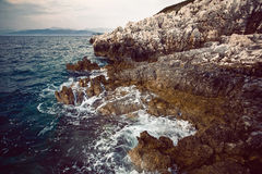 Rock and sea Royalty Free Stock Image