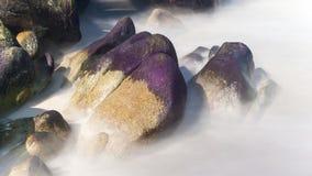 Rock at the sea Royalty Free Stock Image