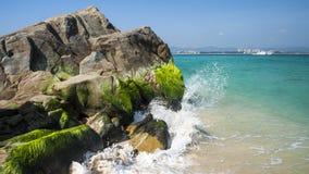Rock at the sea Stock Image