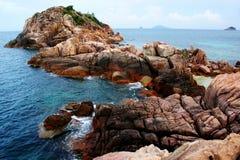 Rock seascape Stock Image