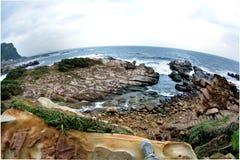 Rock seaside Stock Photo