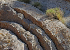 Rock Sections Royalty Free Stock Image