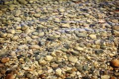 Rock Seeunterseite lizenzfreie stockbilder